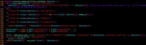 theme callback exle persistent xss vulnerability in wordpress explained