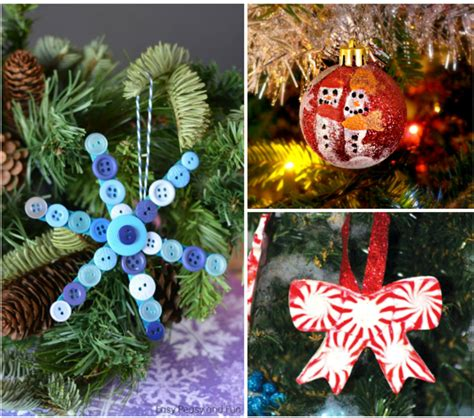 Handmade Decorations To Make - 25 diy handmade ornaments