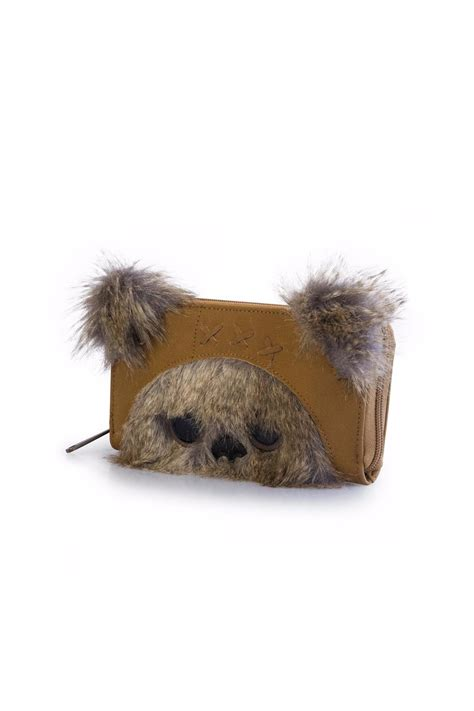 ewok slippers loungefly ewok wallet from california by casual island