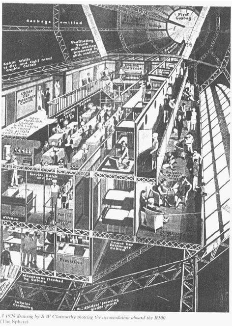 airshipsonline airships interiors r100