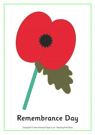 printable remembrance day poster remembrance day printables