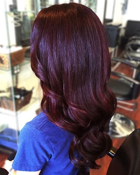 cherry hair color best 25 black cherry hair ideas on black