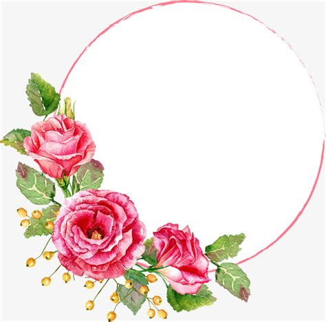 Circle Cutter Pemotong Bulat flower circle gules flower circle png image and clipart for free