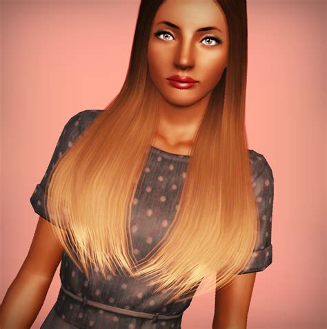 the sims 3 haircolors buckosnort s lair ombre hair
