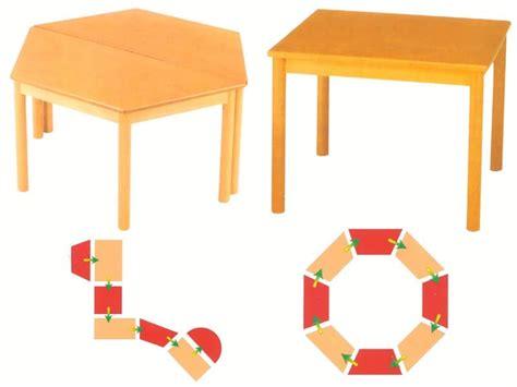 tavoli componibili tavoli componibili in legno di faggio per asilo e scuola