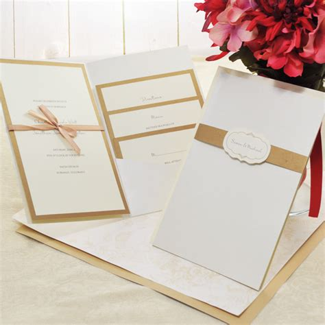 Diy Wedding Invitation Kits