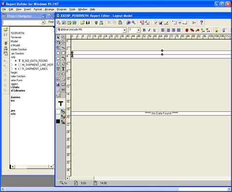 null layout exle oracle apps report output in excel format