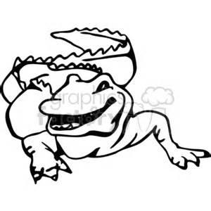 logo black and white crocodile crocodile clip photos vector clipart royalty free