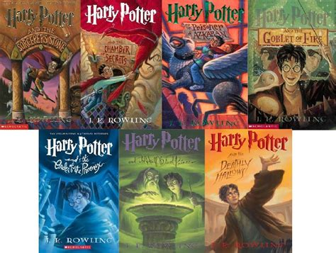 7 Reasons Harry Potter Books by Books For My Mental Health