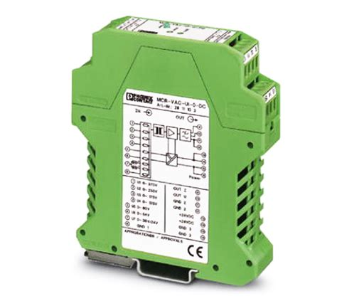 voltage measuring transducer  ac voltage mcr vac ui