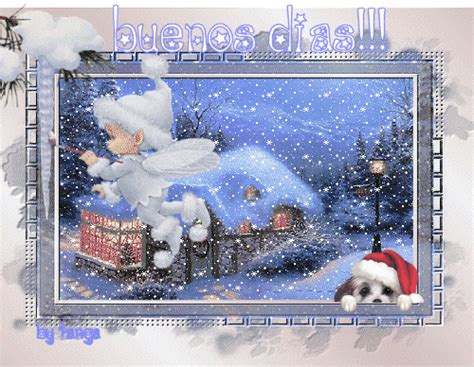 imagenes  gifs animados extras de navidad  nieve animada