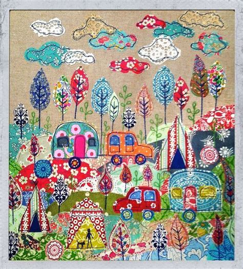 Fabric Inspirations Patchwork - appliqu 233 fabric picture going cing by levenson