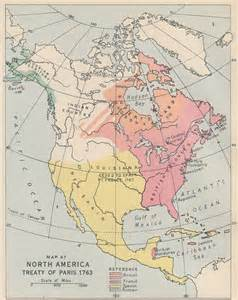 america in 1763 map an historical atlas of canada