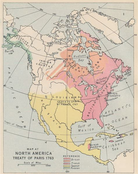 america map of 1763 an historical atlas of canada