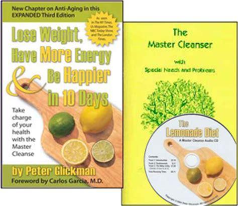 Lemon Diet Detox Results by Master Cleanse Lemonade Diet Info Pack Master Cleanse