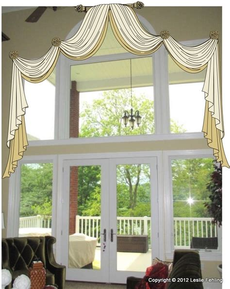 window treatments for double windows best 159 two story window treatments images on pinterest