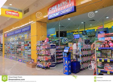 Pharmacy Australia by Chemist Warehouse Australia Editorial Photo Image 64649086