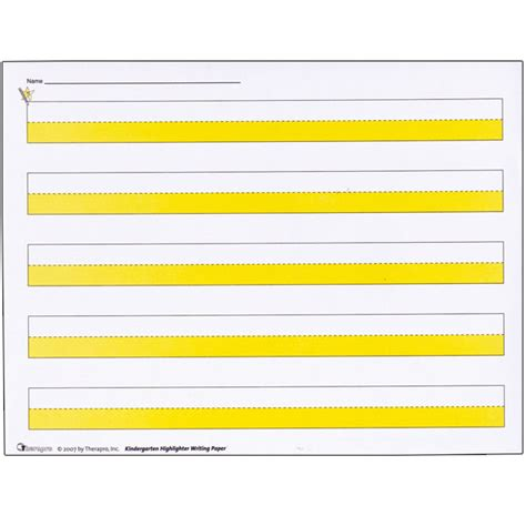 printable highlighted writing paper search results for kindergarten writing paper calendar