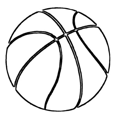 Free Coloring Pages Of Basketball Hoop Basketball Coloring Pages