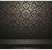 Luxurious Damask Patterns Background Free Vector In