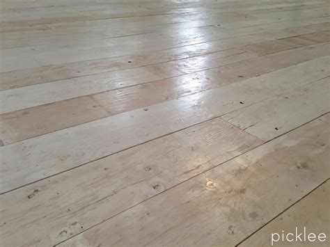 farmhouse floors farmhouse wide plank floor made from plywood diy picklee home design idea