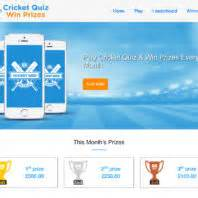 Quiz Win Money - cricket quiz win prizes exercise for brain money for your pocket
