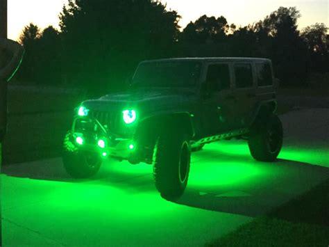 jeep jk rock lights 2014 billet jk unlimited venom motorsports grand
