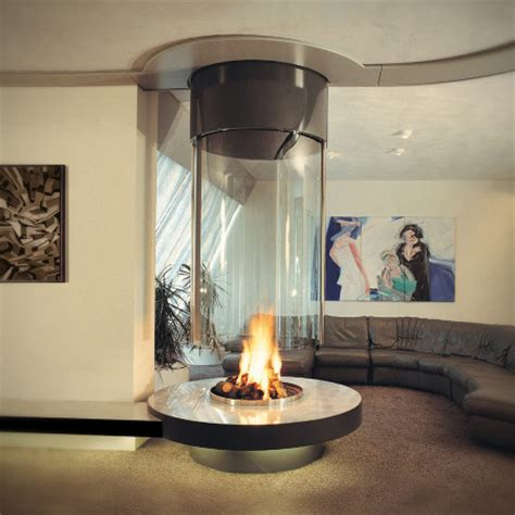 suspended gas fireplace w hotel sided fireplace modus fireplaces