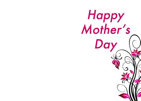 Mothersday Card Template by Mothers Day Wallpapers Pictures Images