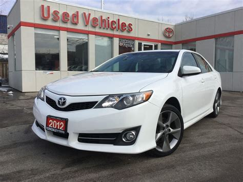 Toyota Camry Se 2012 Accessories 2012 Toyota Camry Se Navigation Sunroof Le 13999