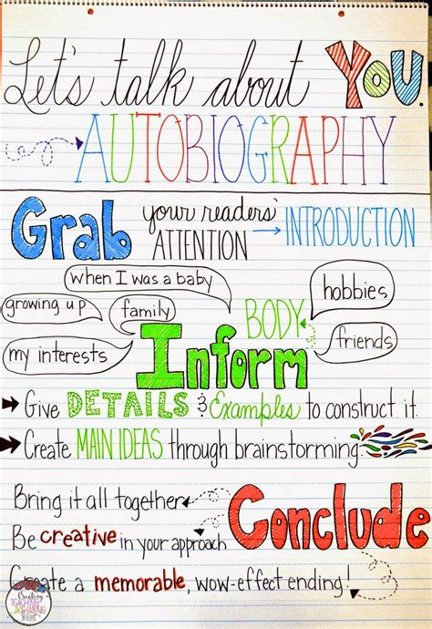 best photos of elementary teacher autobiography exles awesome autobiographies in the upper grades anchor