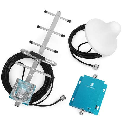900mhz gsm mobile cell phone signal booster lifier repeater with yagi antenna ebay
