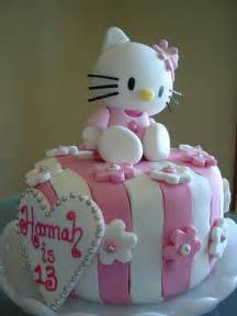 hello kitty birthday cakes best collections cake recipe