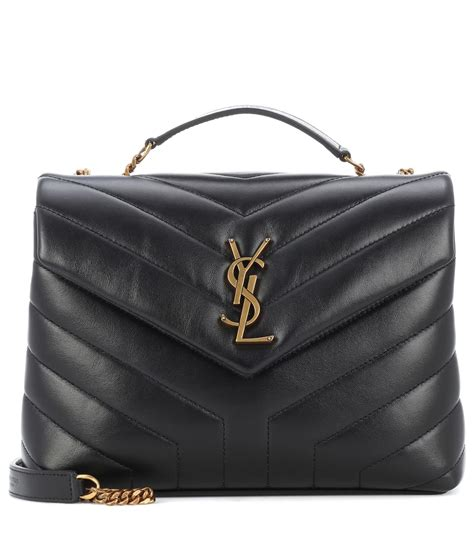 loulou monogram small leather shoulder bag saint laurent