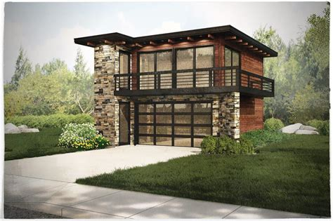 garage w apartments modern house plans home