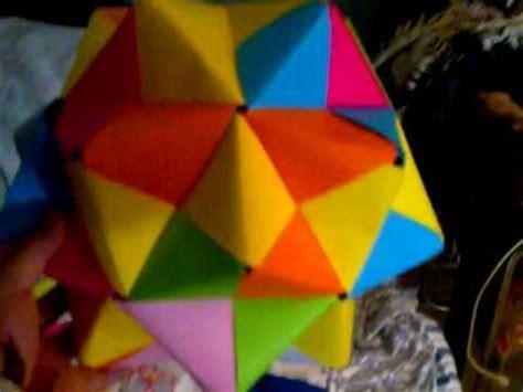 figuras geometricas origami varias figuras de origami youtube