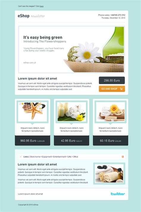 templates for email newsletters newsletter templates code validation css and xhtml