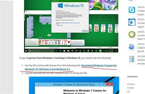 windows 7 freecell does not work on win 10 after 1607 upgrade windows 10 forums