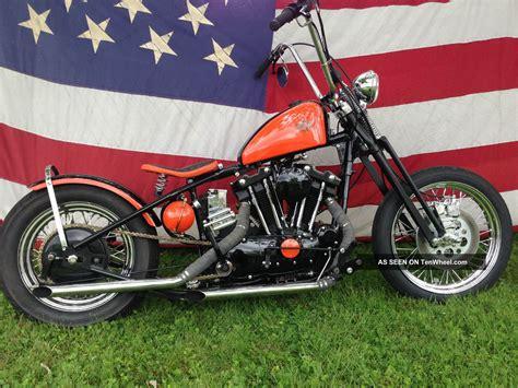 1970 Harley Davidson by 1970 Custom Harley Davidson Bobber Xlch