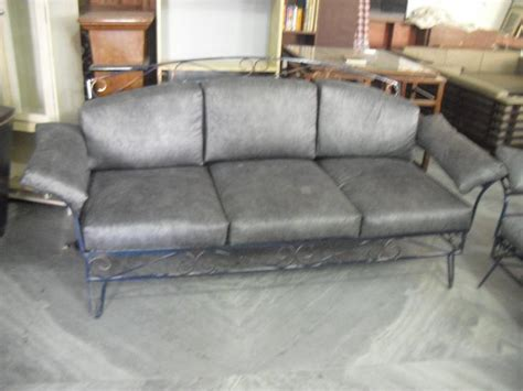 rot iron sofa 5 seater sofa in wrought iron used furniture for sale