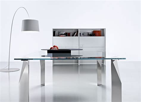 ideas modern glass desk modern glass desk office all