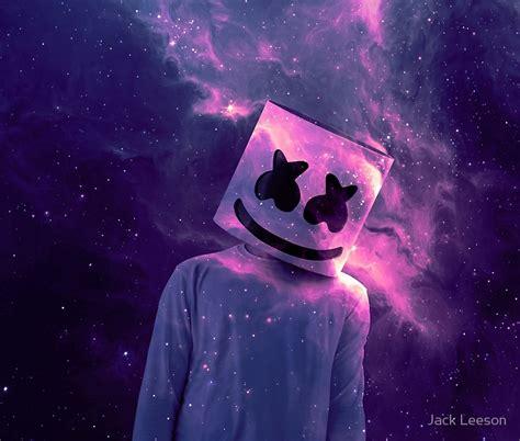 marshmello neon wallpaper l 225 minas fotogr 225 ficas 171 marshmello galaxy purple 187 de jack