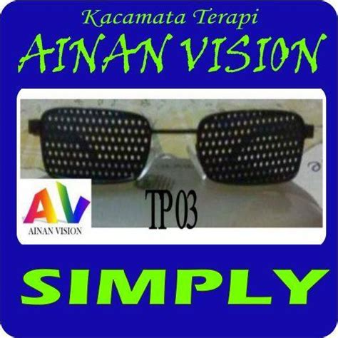 jual kacamata terapi vision original