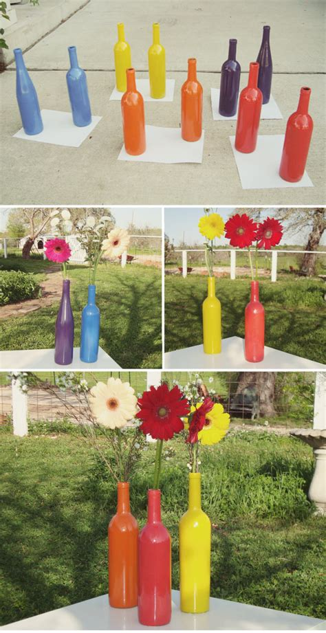 Unique Shaped Wine Bottles Diy Crafts Ideas From Recycled Materials