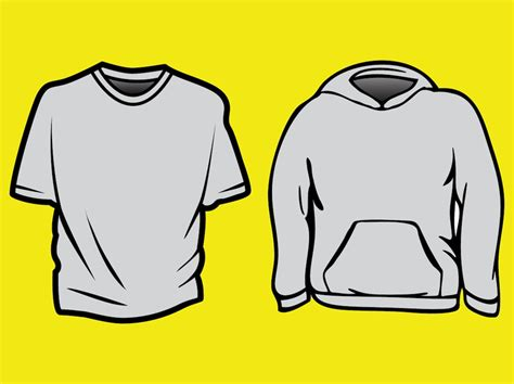 vector clothing templates clothing templates