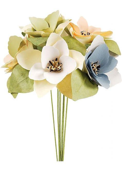 Paper Flower Kit - classic magnolia paper flower kit paper crave