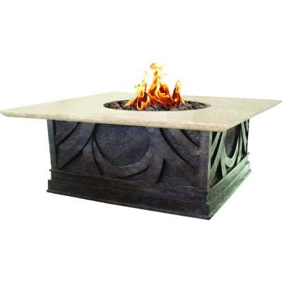 Home Depot Propane Pit bond manufacturing avila 40 in square envirostone and