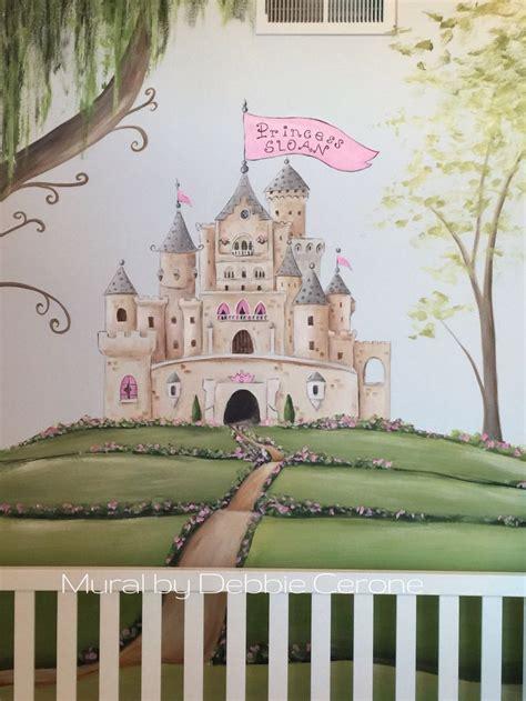 princess castle wall mural best 25 princess mural ideas on