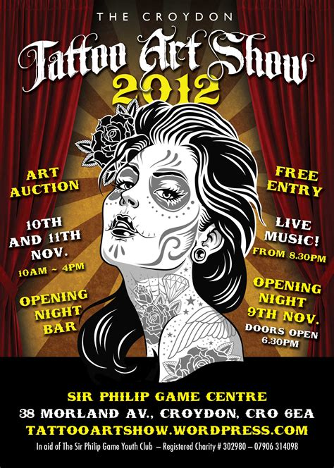 show poster the tattoo art show