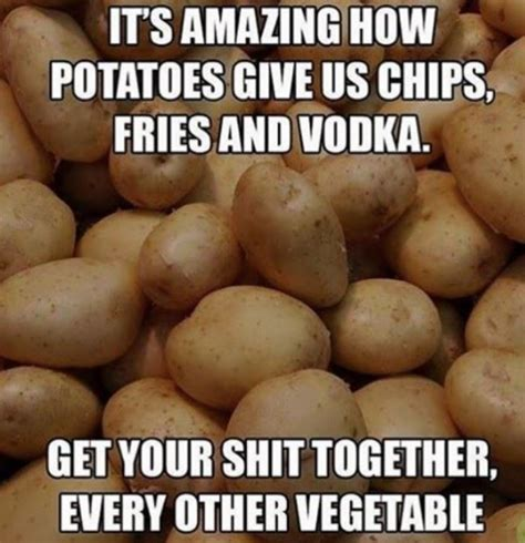 Get Your Shit Together Meme - amazing vegetable